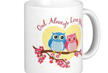 "Fun Valentine's Day Gifts / Valentine's Day gifts, many of them rather cute. ""Owl always love you"" ""owl always love you"" / ""owlways love you"" /  ""owlways in my heart"" / ""owlways be my Valentine"" / ""owl love you forever"" gifts (mugs, T-shirts, greeting cards, stamps), and more."