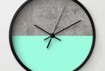 clock concrete