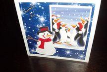 Christmas cards I've made