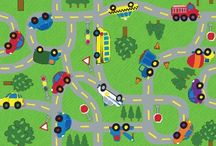 Kids Road Rugs / Road rugs for kids play time