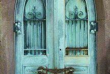 portal Tür door