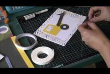 Handmade Card Videos / Video of cards made from The Good Craft Shop products. Handmade projects.