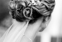 Bridal Hair Inspiration / Natural, boho, floral elegant hair styles for the ultimate bride.