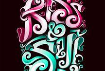 Skrift design
