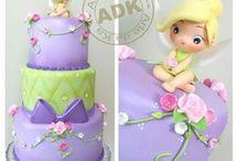 Cute fondant cake