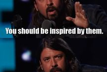 Dave Grohl / And a little bit of the foos
