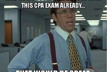 Corporate Life / The joys of working in an office and studying for the CPA.