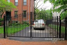 Estate & Driveway Gates  / Beauty shots and customer photos of our Stronghold Iron and Infinity Aluminum Estate Gates.