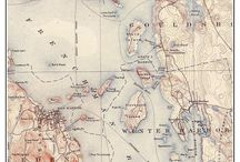 Maine Coast Maps -- Old Topos / Maine Coast -- Old Topographic Map which are custom composite reprints of USGS maps