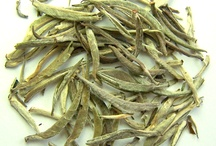 White Tea / As beneficial as it is, a lot of people do not even know that white tea exists. White tea got its name because it comes from the buds of a tea plant that are still immature. At this stage where they are unopened, they have a whitish color.  http://theteasupply.com/store/category/white-tea/
