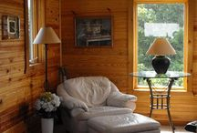Country Style home / Beautiful wood work.