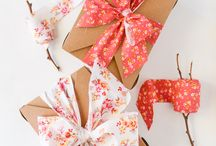 Gift Wrapping Ideas / by Jennifer Chen