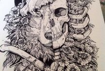 skull wolf