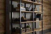 Tv ünitesi, kitaplık ve raflar