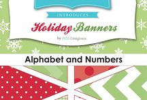 Quilting & Sewing - Banner/Templates