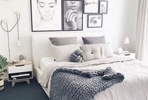 Bedroom Ideas and Design / Make the most of your small bedroom with these stylish and inventive decorating and design ideas. Decor & Design for Teen, women, Men, and master