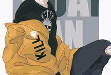pandilla stile anime