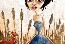 Melanie Jai / Melanie Jai's art is a visual documentary of her experiences as a mother with a child with Autistic Spectrum Disorder.  The emotionally charged imagery follows the chaos and confusion, magnificence, heartbreak, hope, and light, that is having a child that is different.  Painting became her therapy, her vessel through which to feel what her son feels, to attempt to understand his world in the hope that answers would present themselves.