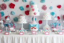 Party Ideas / I love to have parties in my home! It's always fun to come up with individual ideas and themes for those we love! / by Merisa Eavenson