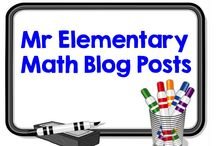 Mr Elementary Math Blog / This board contains educational blog posts from Mr Elementary Math. If you like what you see please consider following my blog at: www.mrelementarymath.com