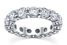 Eternity Rings / Our eternity rings are perfect to wear as wedding bands, anniversary gifts, and more!
