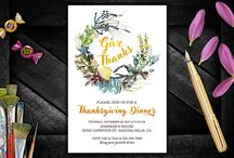 Thanksgiving Invitations Ideas