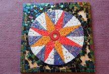 'Dark Star' / My first mosaic
