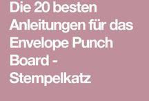 envelopepunchboard