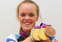 ellie simmonds and swimmers