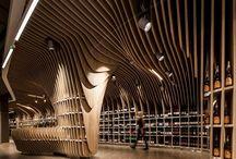 Spectacular wine shops / Vinotecas,enotecas,vinotheken, magasins de vins