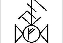 Руны, ставы, символы
