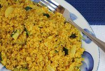 Bulgur, quinoa and such