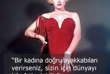 Marilyn Monroe Stilinde Oleg Cassini İmzası / Marilyn Monroe & Oleg Cassini