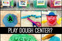 classroom: play dough