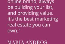 Business Momentum & Inspiration By Maria Andros