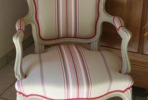fauteuil louis XV relooker