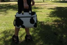 Office Bags / This is a really nice cowhide bag, easily to wear everyday .