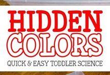 toddler science
