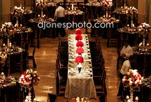 wedding arrangements table