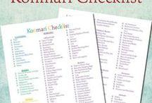 KonMari Method / Decluttering