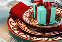 Tiffany Blue & Red Christmas!