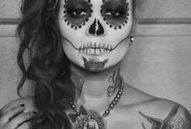Candy Skulls / Jour des Morts / Dias de Los Muertos