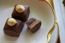 pralines, truffles and chocolates