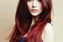 rojo cabello