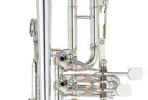 rotary valve piccolo trumpet