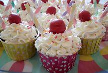 50's cupcakes