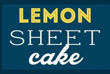 Lemon slice cake / Lemon slice cake
