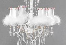 chandelier shabby chic
