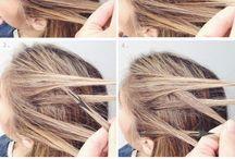Fryzury, hair design