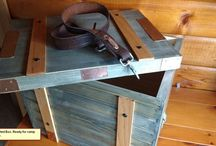 Chuck boxes and camp kitchens